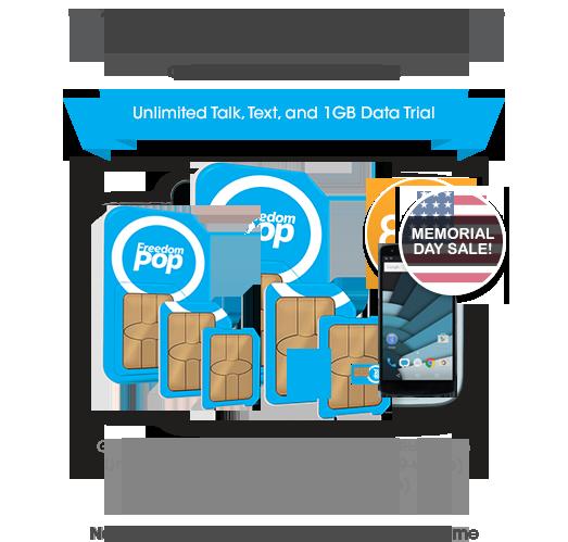 FreedomPop: Global 3-in-1 SIM Kit