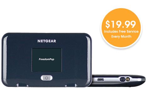 Netgear Fuse Mobile Hotspot Free Service & 2GB