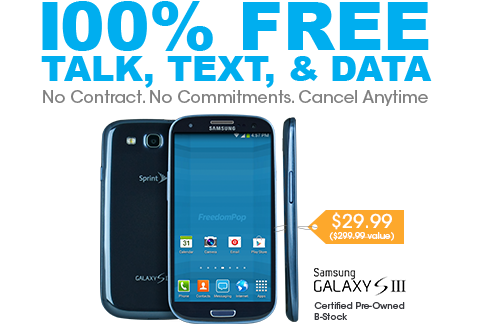 Samsung Galaxy S3, now only $2...