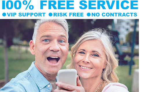 100% FREE Mobile Phone Service...