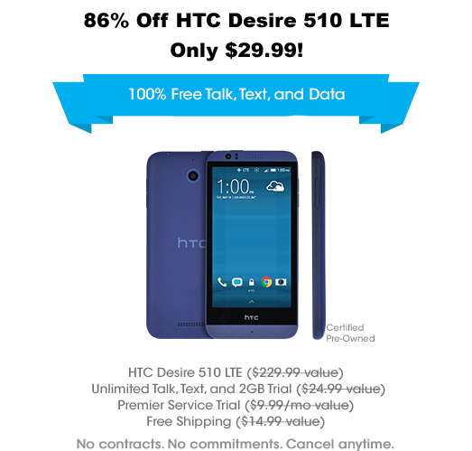 Price Drop Alert: HTC Desire L...